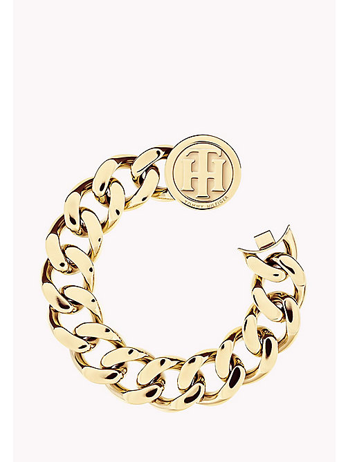 TOMMY HILFIGER Gold-Plated Turn Lock Bracelet - MULTI - TOMMY HILFIGER Bags & Accessories - main image