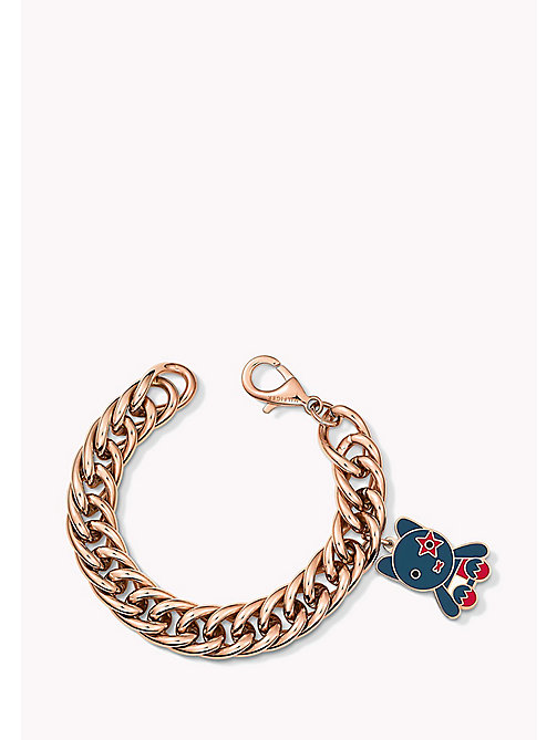 TOMMY HILFIGER Rose Gold-Plated Charm Bracelet - MULTI - TOMMY HILFIGER Jewellery - main image