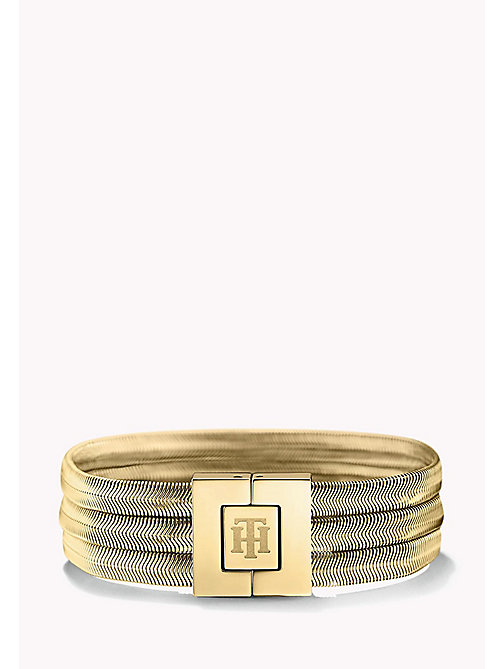 TOMMY HILFIGER Schlangenarmband in Gold - MULTI - TOMMY HILFIGER Bags & Accessories - main image
