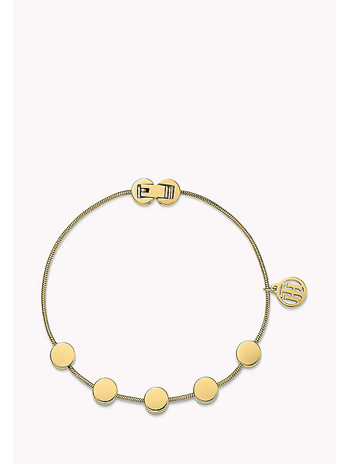 TOMMY HILFIGER Gold-Plated Multi-Coin Bracelet - MULTI - TOMMY HILFIGER Jewellery - main image