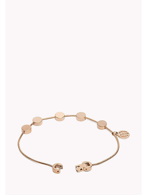 TOMMY HILFIGER Rose Gold-Plated Multi-Coin Bracelet - MULTI - TOMMY HILFIGER Jewellery - detail image 1