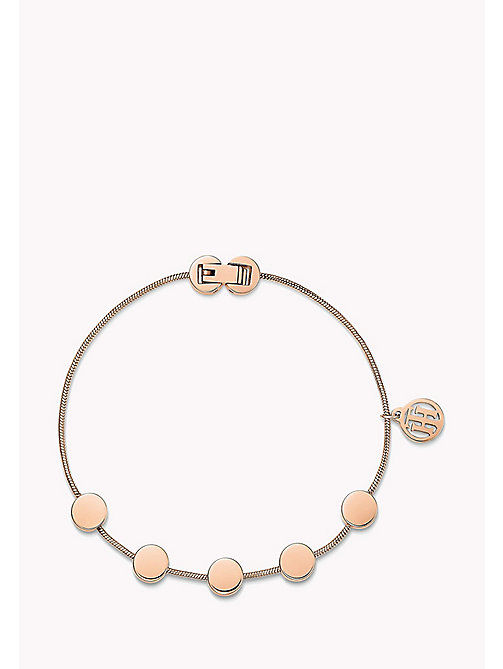 TOMMY HILFIGER Rose Gold-Plated Multi-Coin Bracelet - MULTI - TOMMY HILFIGER Jewellery - main image