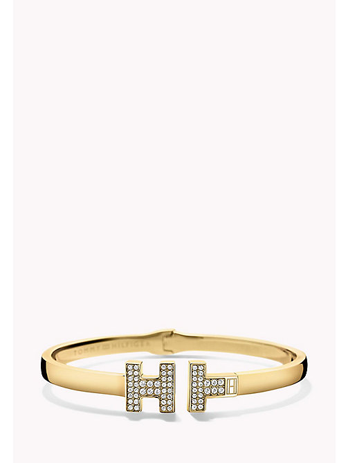 TOMMY HILFIGER Gold-Plated Bangle - MULTI - TOMMY HILFIGER Jewellery - main image