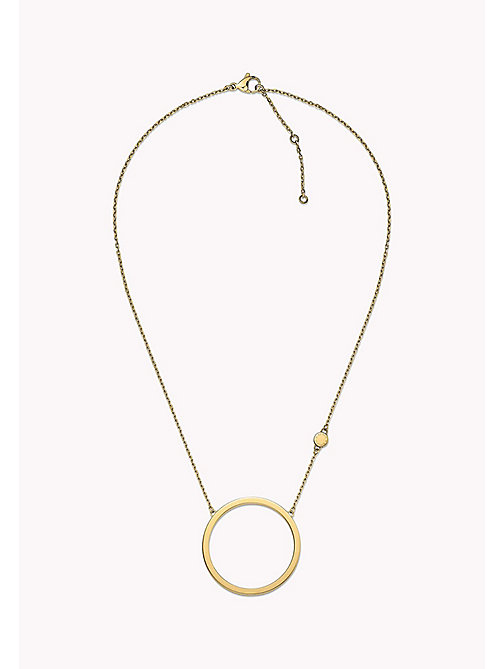 TOMMY HILFIGER Open Circle Necklace - MULTI - TOMMY HILFIGER Jewellery - main image