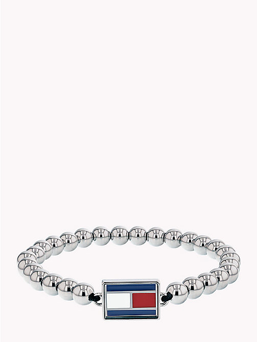 TOMMY HILFIGER Stretch Metal Flag Bracelet - STAINLESS STEEL - TOMMY HILFIGER Watches & Jewelry - main image