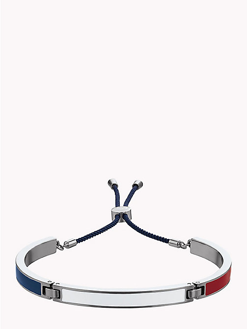 TOMMY HILFIGER Flag Bangle Bracelet - STAINLESS STEEL - TOMMY HILFIGER Watches & Jewelry - main image