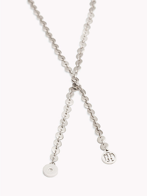 TOMMY HILFIGER Flat Disc Necklace - STAINLESS STEEL - TOMMY HILFIGER Necklaces - detail image 1