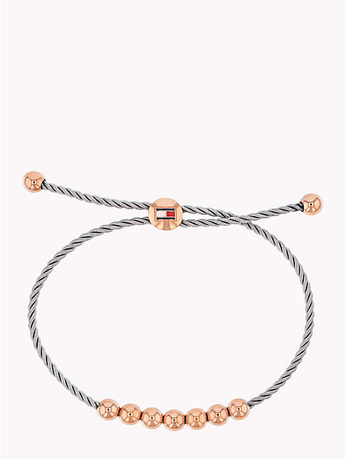 TOMMY HILFIGER Elevated Friendship Bracelet - GREY - TOMMY HILFIGER Bracelets - main image