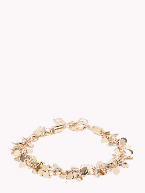 TOMMY HILFIGER Clustered Disc Bracelet - YELLOW GOLD - TOMMY HILFIGER Watches & Jewelry - main image
