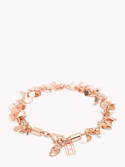 TOMMY HILFIGER Cluster Discs Bracelet - ROSE GOLD - TOMMY HILFIGER Watches & Jewelry - main image
