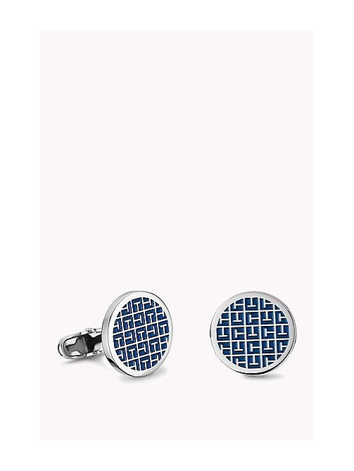 TOMMY HILFIGER CASUAL CORE Jacquard Cufflinks - MULTI - TOMMY HILFIGER Hommes - image principale