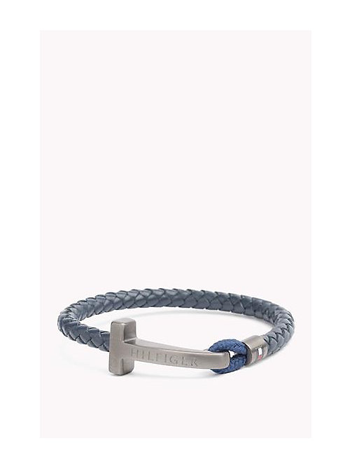 TOMMY HILFIGER Leather Bracelet - MULTI - TOMMY HILFIGER Father's day - main image