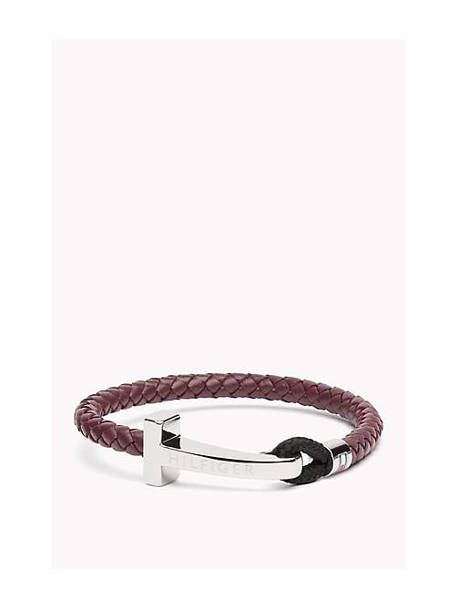 Leather Bracelet - MULTI - TOMMY HILFIGER Borse & Accessori - immagine principale