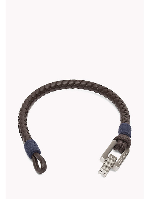 TOMMY HILFIGER Braided Fold-Over Clasp Bracelet - MULTI - TOMMY HILFIGER Jewellery & Cufflinks - detail image 1