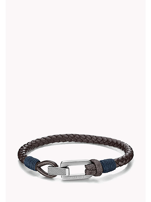 TOMMY HILFIGER Braided Fold-Over Clasp Bracelet - MULTI -  Jewellery & Cufflinks - main image