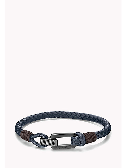 TOMMY HILFIGER Braided Fold-Over Clasp Bracelet - MULTI - TOMMY HILFIGER Jewellery & Cufflinks - main image