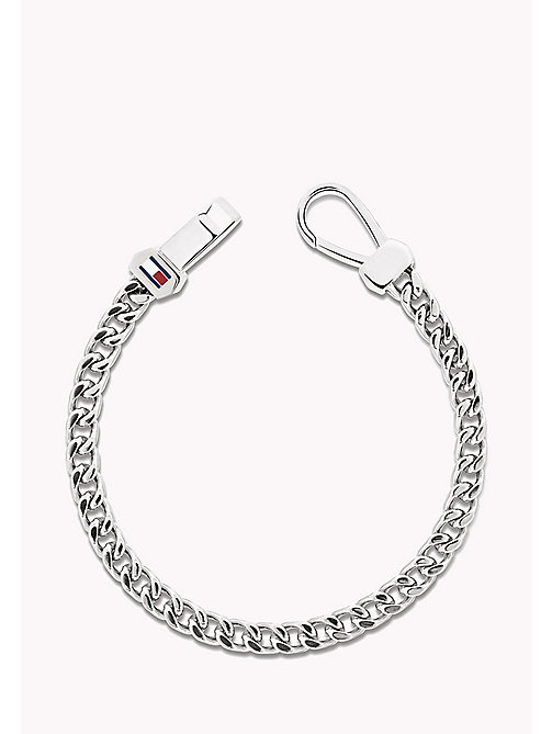 TOMMY HILFIGER Steel Box Chain Bracelet - STAINLESTAINLESS STEEL STEEL - TOMMY HILFIGER Jewellery & Cufflinks - main image