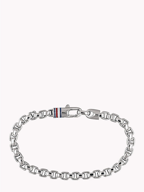 TOMMY HILFIGER Box Chain Bracelet - STAINLESS STEEL - TOMMY HILFIGER Watches & Jewelry - main image