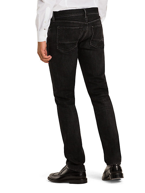 TOMMY HILFIGER Slim Fit Jeans - WASHED BLACK - TOMMY HILFIGER Slim-Fit Jeans - detail image 1