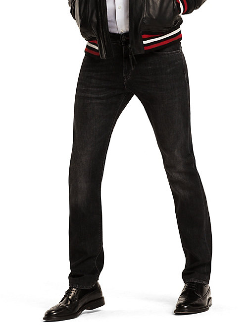 TOMMY HILFIGER Slim Fit Jeans - WASHED BLACK - TOMMY HILFIGER Slim-Fit Jeans - main image