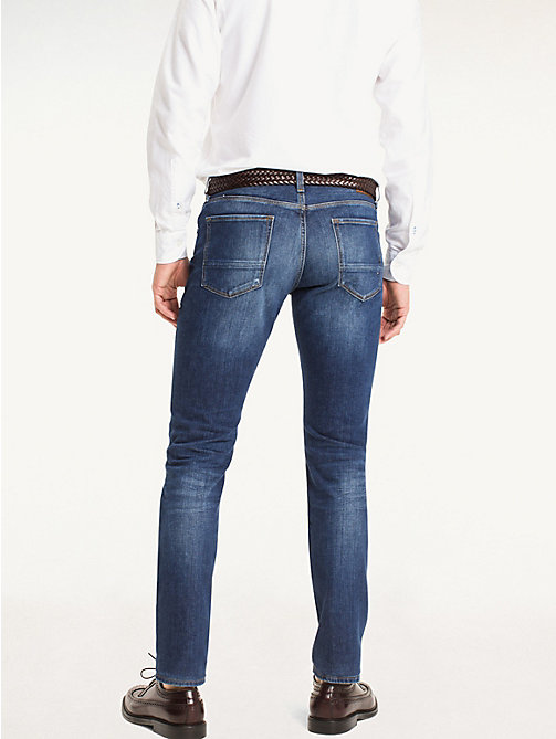 TOMMY HILFIGER Straight Fit Jeans - NEW MID STONE - TOMMY HILFIGER Straight-Fit Jeans - detail image 1