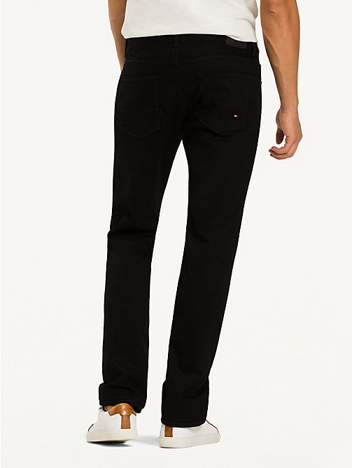 TOMMY HILFIGER Denton Straight Fit Jeans - CLEAN BLACK - TOMMY HILFIGER Jeans - detail image 1