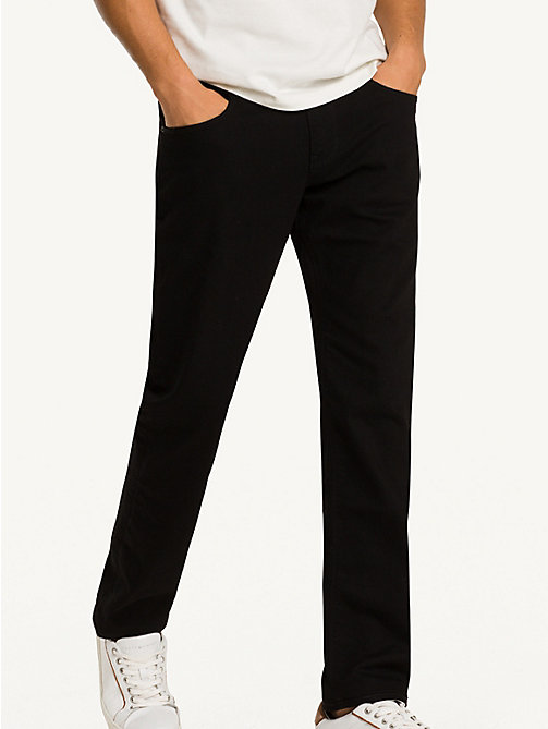 TOMMY HILFIGER Straight Fit Jeans - CLEAN BLACK - TOMMY HILFIGER Straight-Fit Jeans - main image