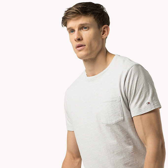 TOMMY HILFIGER Regular Fit T-Shirt - BLUE DEPTHS HTR - TOMMY HILFIGER Clothing - main image
