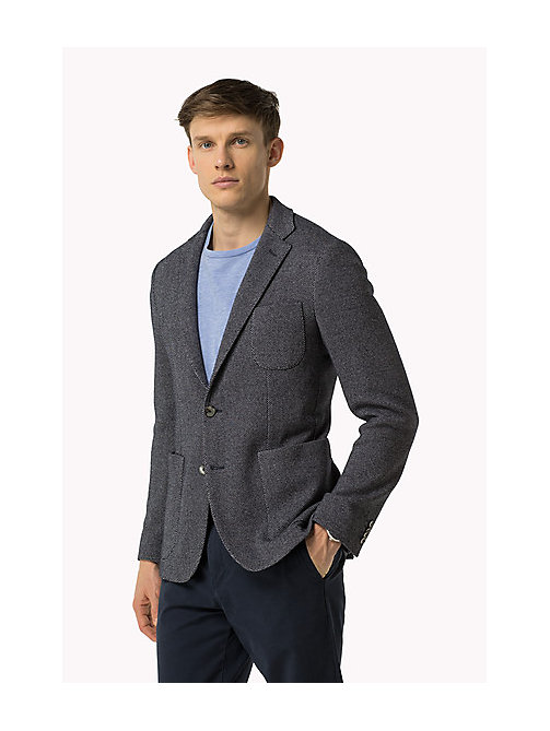 TOMMY HILFIGER Textured Slim Fit Blazer - 429 - TOMMY HILFIGER Clothing - main image