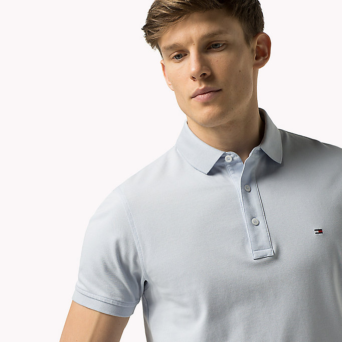 TOMMY HILFIGER Tommy Slim Fit Polo - BATIQUE KHAKI - TOMMY HILFIGER Clothing - detail image 2