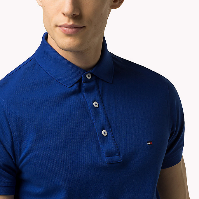 TOMMY HILFIGER Tommy Slim Fit Polo - PONDEROSA PINE - TOMMY HILFIGER Clothing - detail image 2