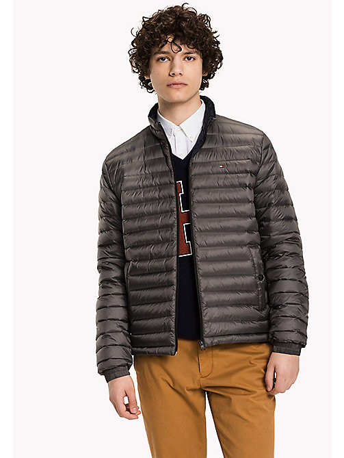 TOMMY HILFIGER Packable Down Bomber - MAGNET - TOMMY HILFIGER Coats & Jackets - main image