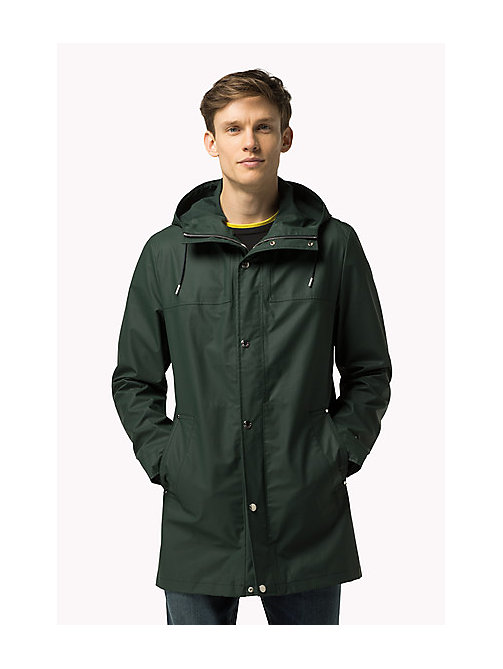 TOMMY HILFIGER Rain Coat - SCARAB - TOMMY HILFIGER Clothing - main image