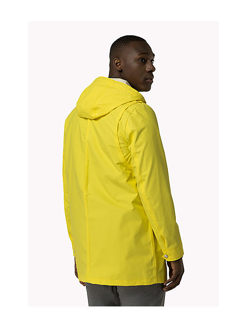 TOMMY HILFIGER Rain Coat - BLAZING YELLOW - TOMMY HILFIGER Clothing - detail image 1