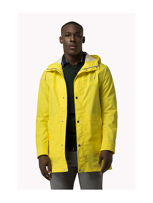 TOMMY HILFIGER Rain Coat - BLAZING YELLOW - TOMMY HILFIGER Clothing - main image