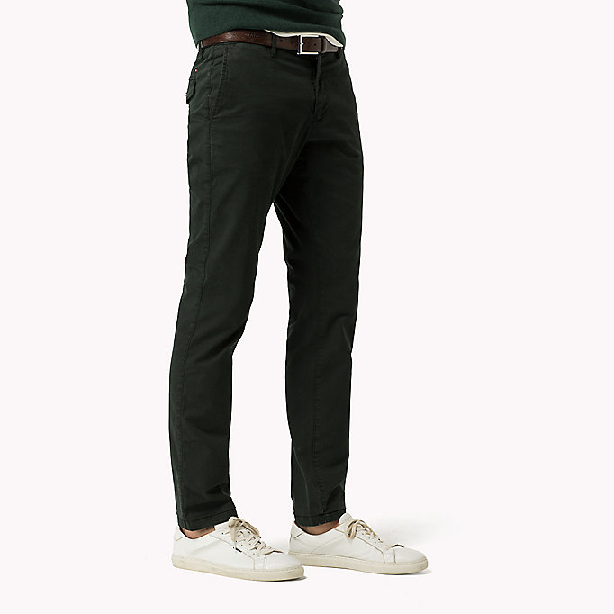 TOMMY HILFIGER Printed Straight Fit Chinos - BLUE DEPTHS - TOMMY HILFIGER Clothing - detail image 2