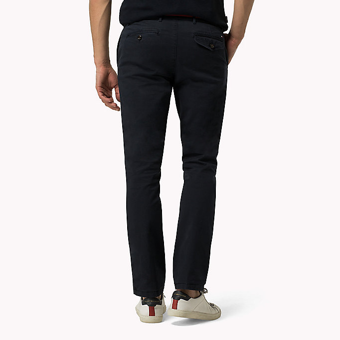 TOMMY HILFIGER Straight Fit Chino mit Print - SCARAB - TOMMY HILFIGER Kleidung - main image 1