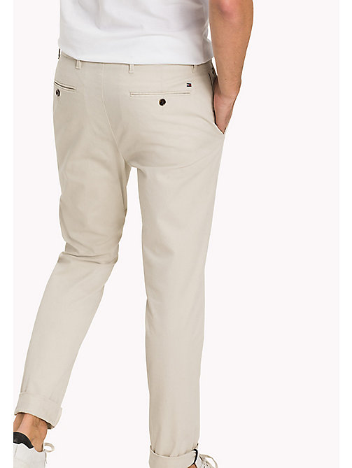 TOMMY HILFIGER Straight Fit Chino - BONE WHITE - TOMMY HILFIGER Hosen - main image 1