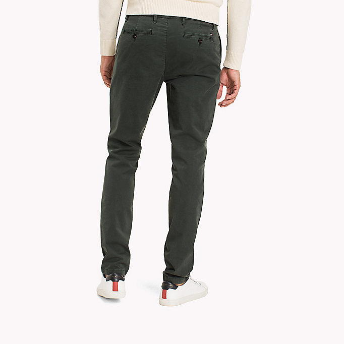 TOMMY HILFIGER Straight Fit Chinos - DELICIOSO - TOMMY HILFIGER Clothing - detail image 1