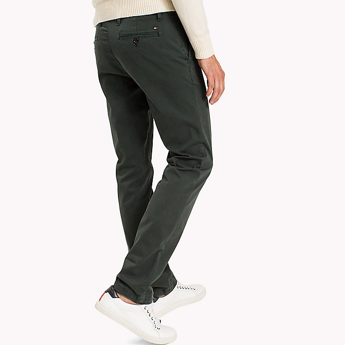 TOMMY HILFIGER Straight Fit Chinos - DELICIOSO - TOMMY HILFIGER Clothing - detail image 2