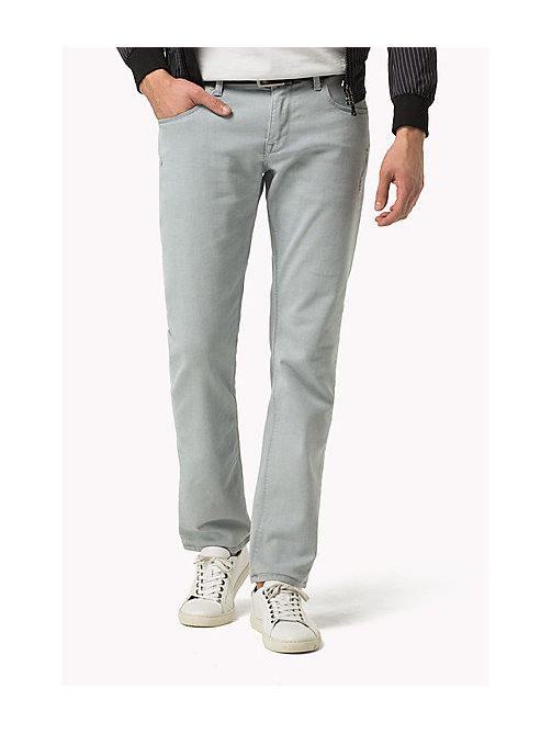 TOMMY HILFIGER Straight Fit Jeans - STARK GREY - TOMMY HILFIGER Jeans - main image