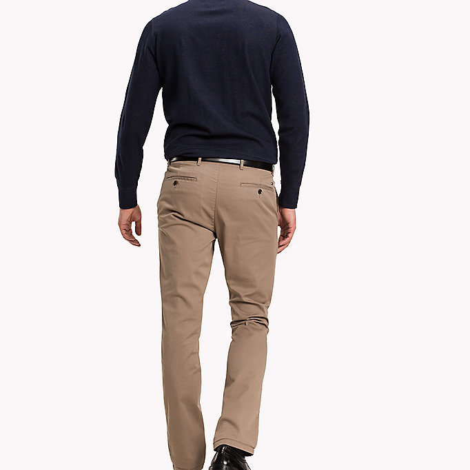 TOMMY HILFIGER Slim Fit Chino - PEACOAT - TOMMY HILFIGER Clothing - detail image 1