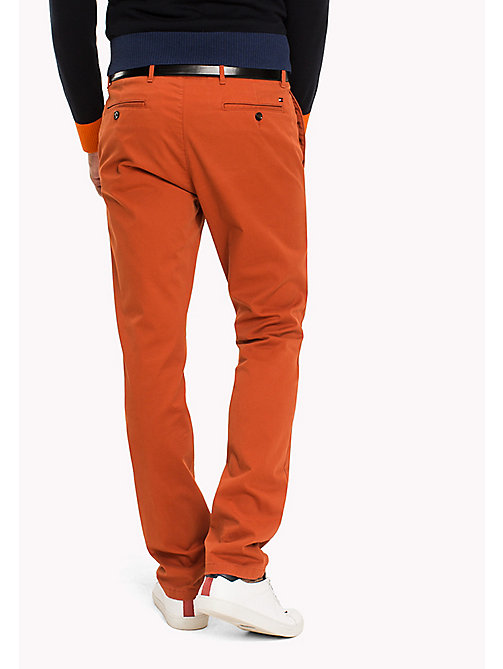 TOMMY HILFIGER Slim Fit Chino - ROOIBOS TEA - TOMMY HILFIGER Hosen - main image 1
