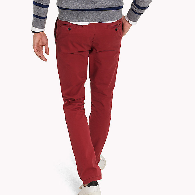 TOMMY HILFIGER Slim Fit Chino - CHIPMUNK - TOMMY HILFIGER Clothing - detail image 1