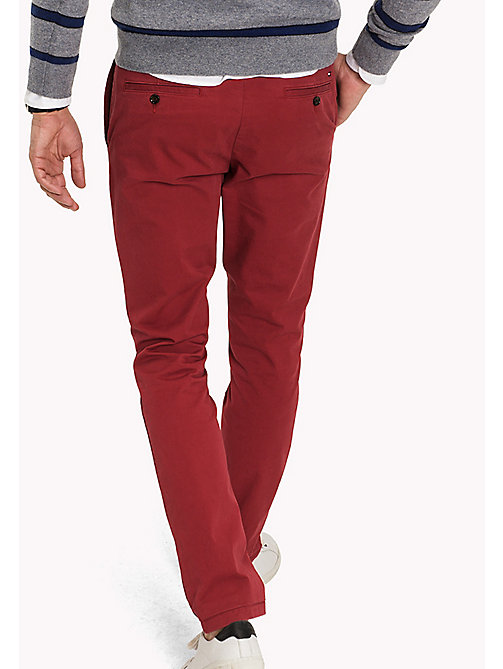 TOMMY HILFIGER Slim Fit Chino - RIO RED - TOMMY HILFIGER Hosen - main image 1