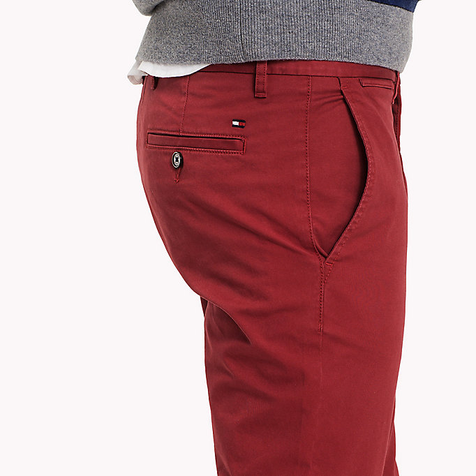 TOMMY HILFIGER Slim Fit Chino - CHIPMUNK - TOMMY HILFIGER Clothing - detail image 3