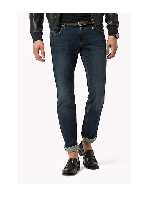 TOMMY HILFIGER Slim Fit Jeans - CANTON BLUE - TOMMY HILFIGER Clothing - main image