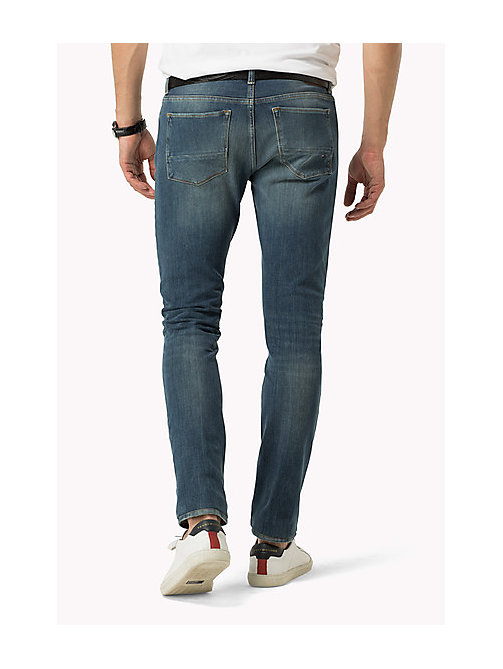 TOMMY HILFIGER Slim Fit Jeans - BELLBROOK BLUE - TOMMY HILFIGER Clothing - detail image 1