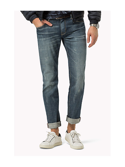 TOMMY HILFIGER Straight Fit Jeans - OTTAWA INDIGO - TOMMY HILFIGER Jeans - main image