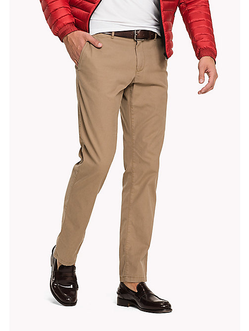 TOMMY HILFIGER Regular Fit Chinos - LEAD GRAY - TOMMY HILFIGER Clothing - main image